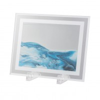 Blue Moving Sand Table Art, Small