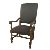 Alba Upholstered Arm Chair