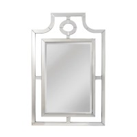 Fusion of Old World Design Updated in Transitional Mirror