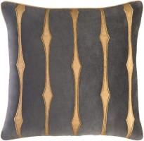 Surya Graphic Stripe Pillow Cover