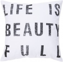 Surya Typography Pillow Kit