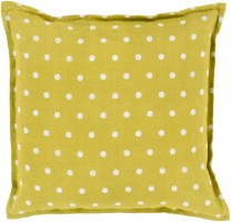 Surya Polka Dot Pillow Cover