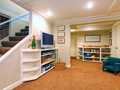 Playroom in Basement